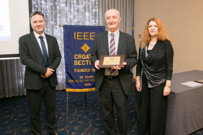 Prof. Petrović receives the IEEE...