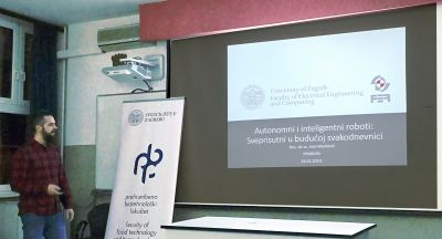 Ivan Marković held a lecture at the...
