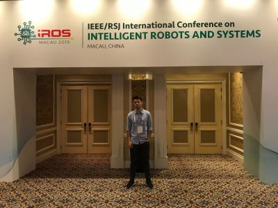 LAMOR@IROS 2019, Macau, China